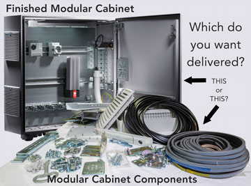 Modular Cabinet Assembly